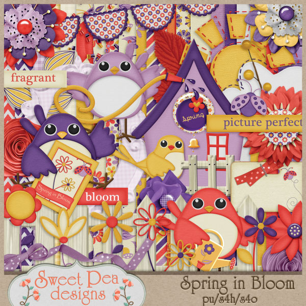 Spring in Bloom Kit - Click Image to Close